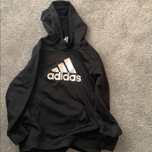 Girls Adidas sweatshirt, L